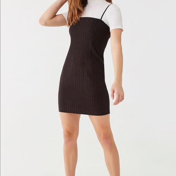 Forever 21 Dresses & Skirts - brand new forever 21 black pinstripe dress